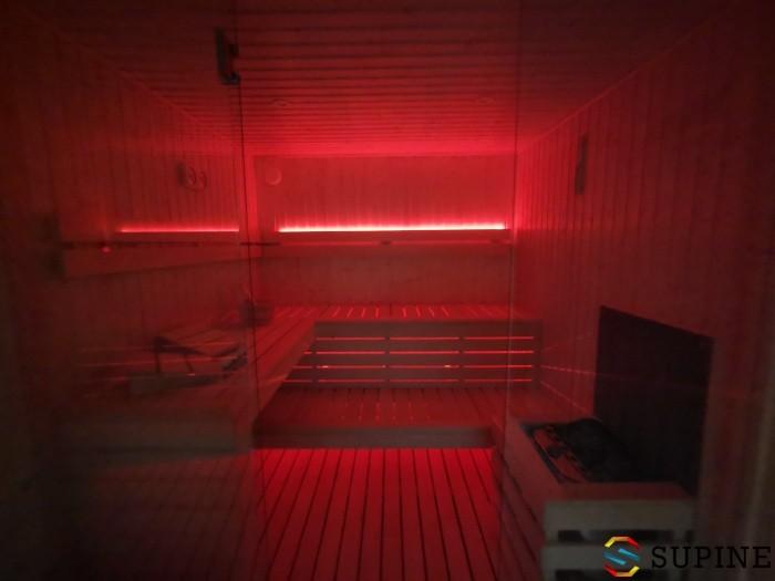 Sauna ogrodowa koloroterapia Emma