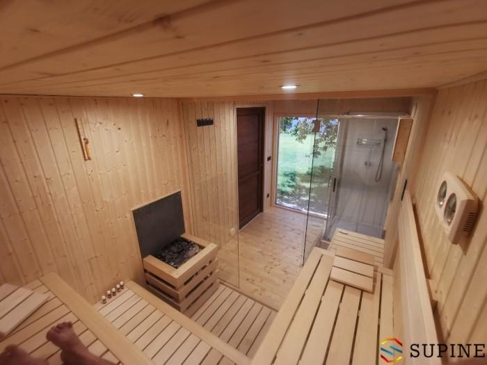 Sauna do ogrodu z drewna Emma
