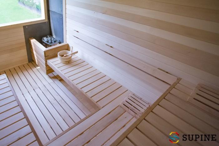 Drewniana sauna ogrodowa Oliver