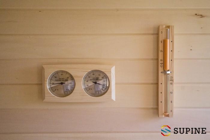 Sauna ogrodowa termometr Oliver