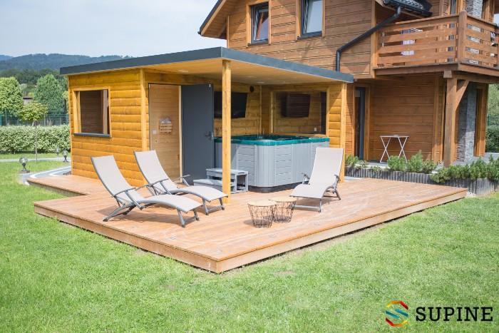 Sauna ogrodowa od producenta Oliver