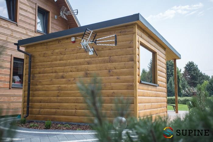 Domek drewniany z sauną Oliver