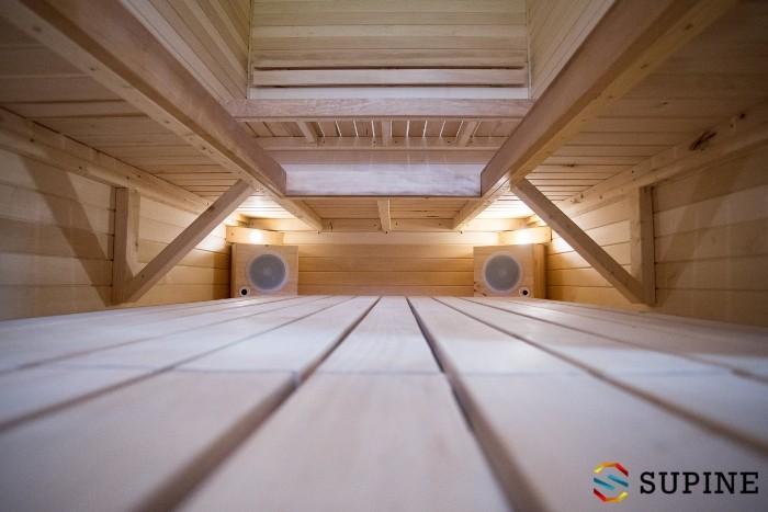 Sauna do ogrodu z drewna Oliver