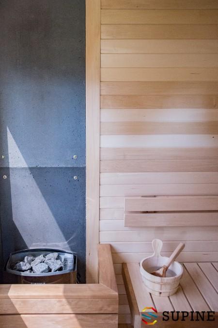 Wyposażenie sauny ogrodowej Oliver