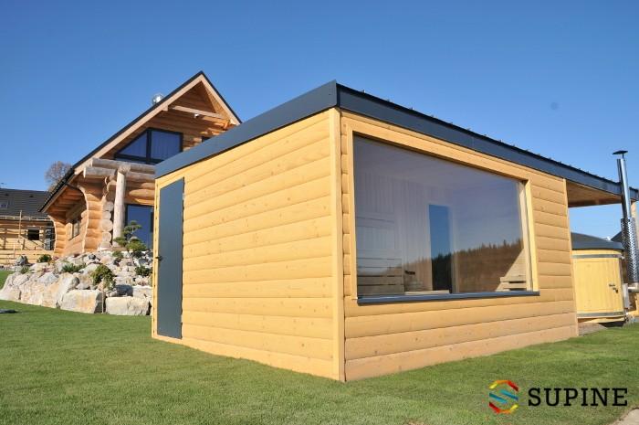 Sauna ogrodowa Alex domek saunowy
