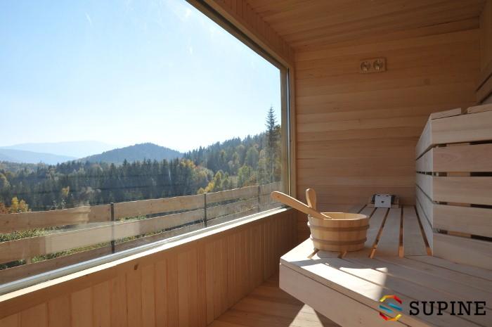 Sauna ogrodowa Alex zewnętrzna
