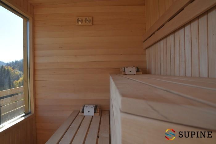 Sauna ogrodowa Alex drewniana balia