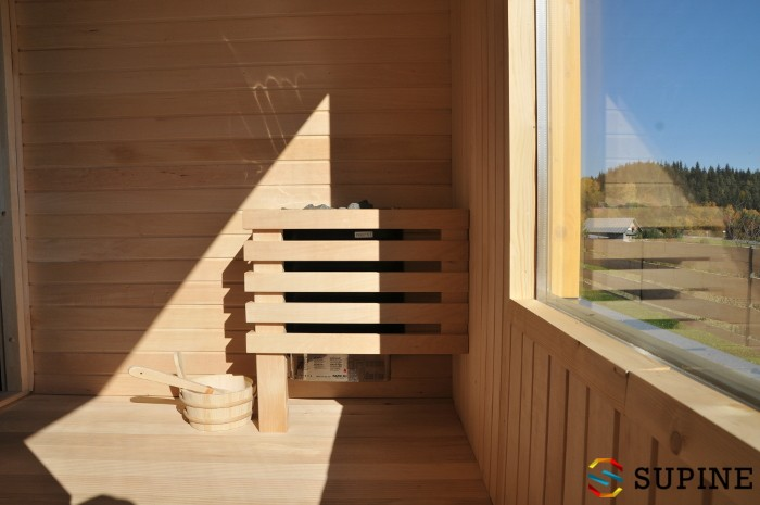Sauna ogrodowa Alex fińska