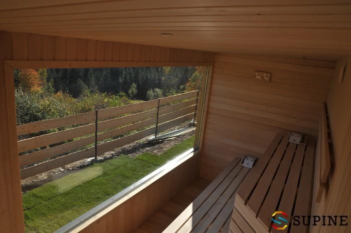 Sauna ogrodowa Alex drewniana