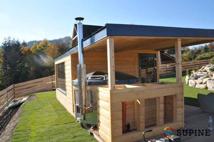 Sauna ogrodowa Alex balia